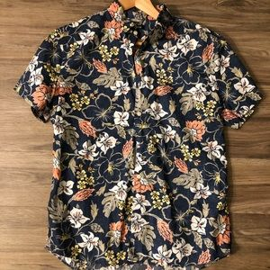 Express Hawaiian Shirt L